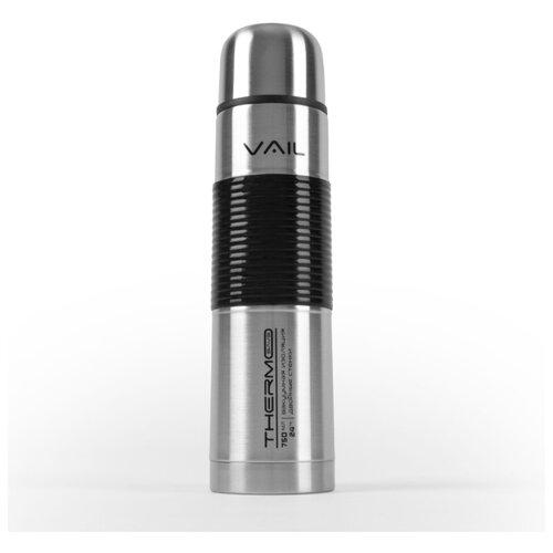 Термос VAIL VL-7017 узкое горло 0,75 л. силиконовая вставка