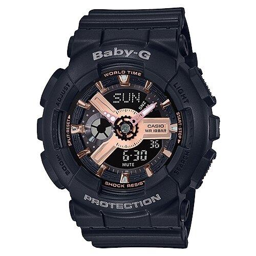 Фото - Наручные часы CASIO BA-110RG-1A женские часы casio ba 111 1a