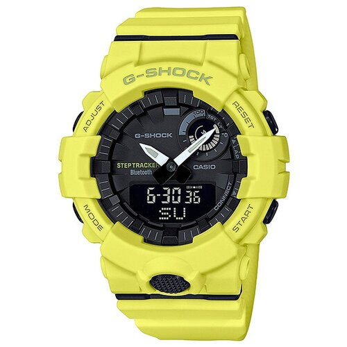 Наручные часы CASIO G-Shock GBA-800-9A casio g shock gba 400 7c с хронографом белый