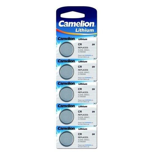 Батарейка Camelion CR2032 5 шт блистер батарейка camelion green series aaa 4 шт блистер