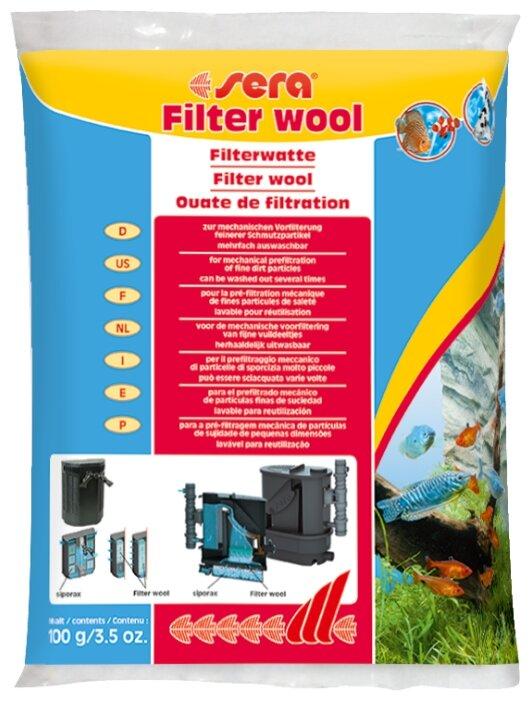 Наполнитель Sera Filter Wool 100 г
