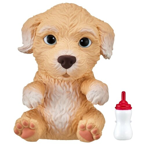 Купить Робот Moose Little Live OMG Pets сквиши-щенок Пудель 28915 бежевый, Роботы и трансформеры