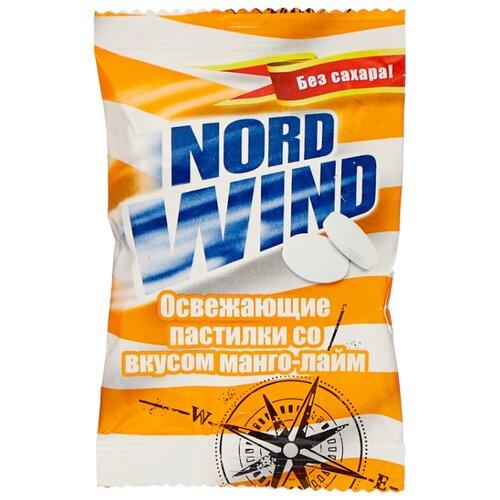 Пастилки Nord Wind освежающие со вкусом манго-лайм без сахара 25 г горпилс лимон 12 пастилки