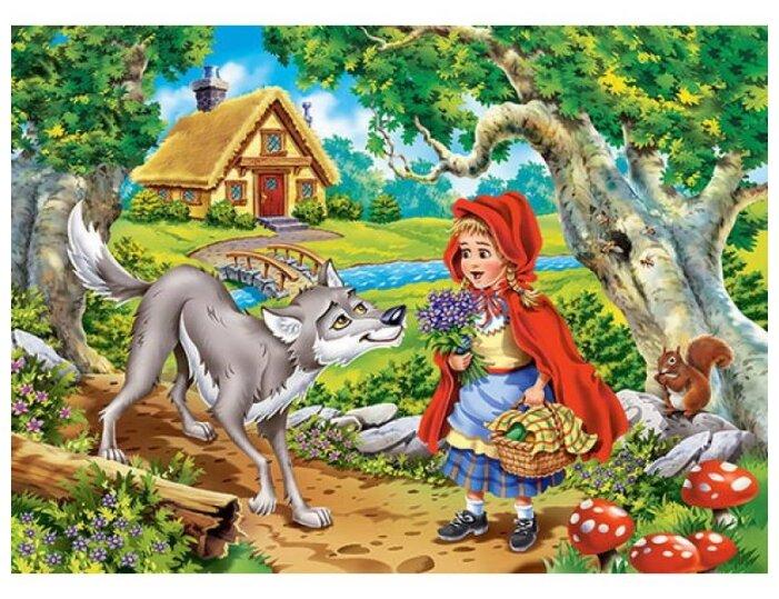 Пазл Castorland Красная Шапочка (B-070015), 70 дет.