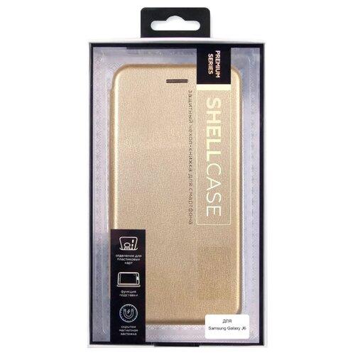 Чехол Smarterra ShellCase SCSGJ6 для Samsung Galaxy J6 золотойЧехлы<br>