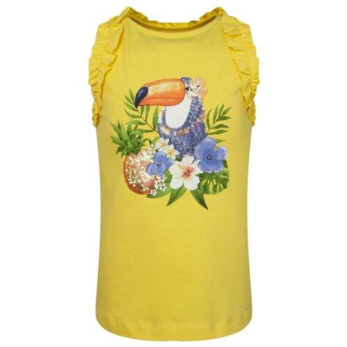 Майка Mayoral размер 116, желтый майка для девочки acoola foks цвет желтый 20224220029 1200 размер 116
