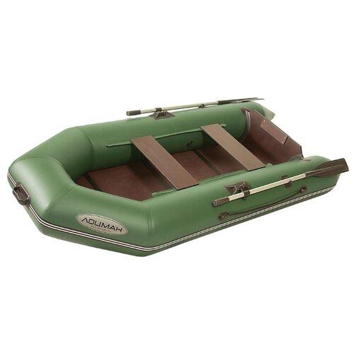 Фото - Надувная лодка Лоцман М-260 ЖС зеленый надувная лодка лоцман с 260 м серый