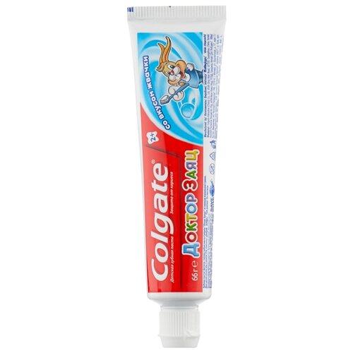 Зубная паста Colgate Доктор Заяц со вкусом жвачки 2+, 50 млГигиена полости рта<br>
