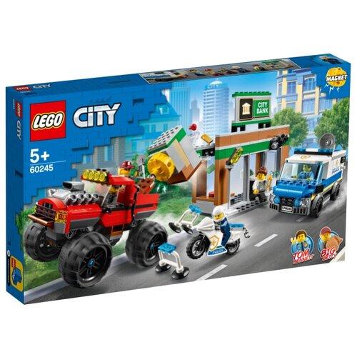 Конструктор LEGO City 60245 Ограбление полицейского монстр-трака конструктор city lego lego mp002xb00c9t