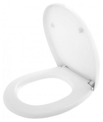 Крышка-сиденье для унитаза Керамин Верона-ЖС дюропласт с микролифтом — цены на Яндекс.Маркете