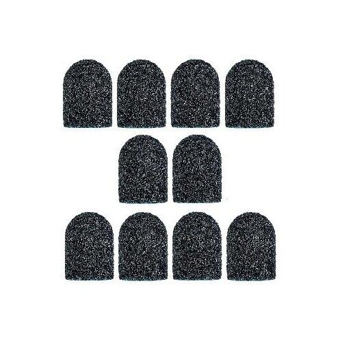 Колпачок Muhle Manikure шлифовальный супергрубый черный 13 мм, 60 грит, 12000 об/мин, 10 шт., черный muhle manikure колпачок шлифовальный 13 мм тонкий 100 шт
