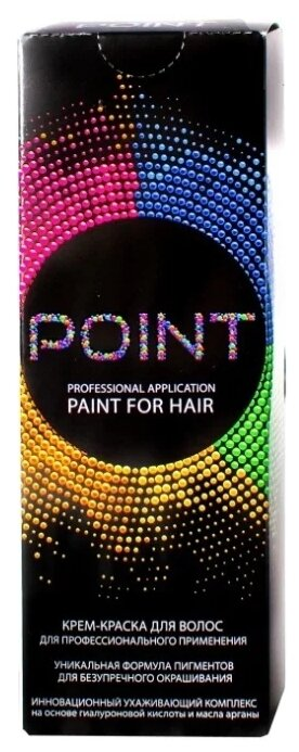 Point корректор крем краска для волос,