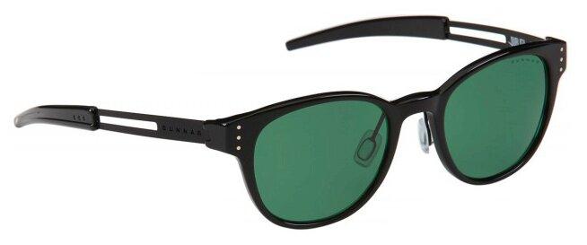 Очки солнцезащитные GUNNAR MOD Designed By Publish Green Onyx, MOD-15731