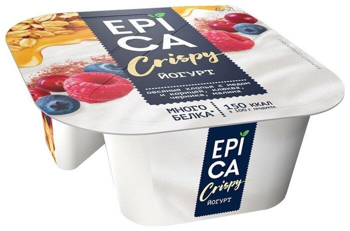 Йогурт EPICA Crispy натуральный 6.5%, 138 г