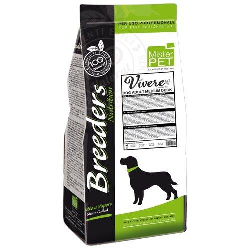 Сухой корм для собак Vivere утка 20 кг (для средних пород)