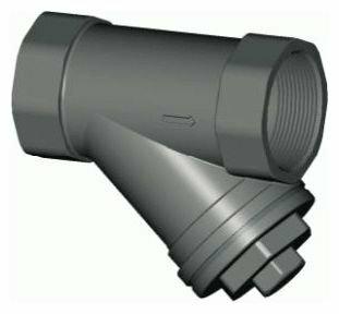 Фильтр механической очистки Tecofi F5150 муфтовый (ВР/ВР), сталь