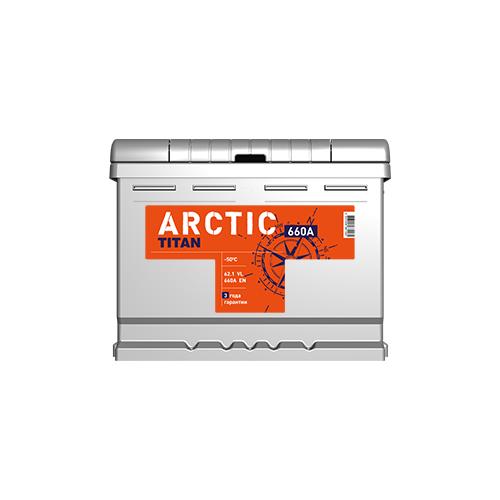 Автомобильный аккумулятор TITAN ARCTIC 6CT-62.1 VL