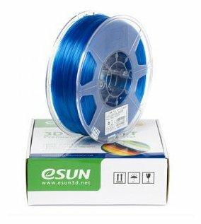 PLA пруток ESUN 1.75 мм прозрачно-голубой