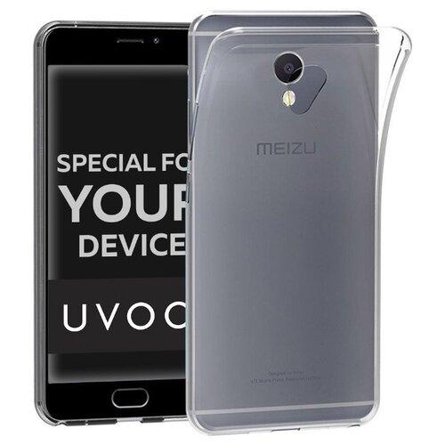 Чехол-накладка UVOO U004767MEI для Meizu M5S прозрачный