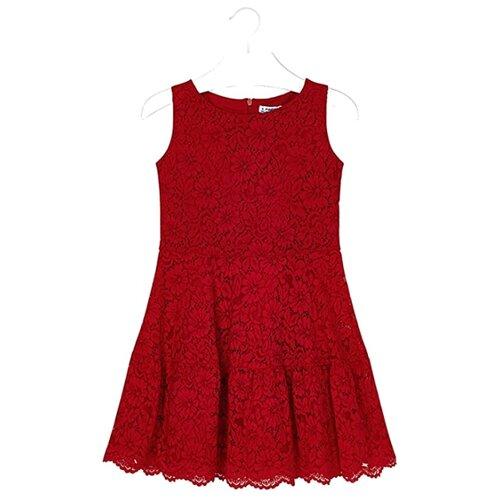 Платье Mayoral размер 157, красный платье oodji ultra цвет красный белый 14001071 13 46148 4512s размер xs 42 170