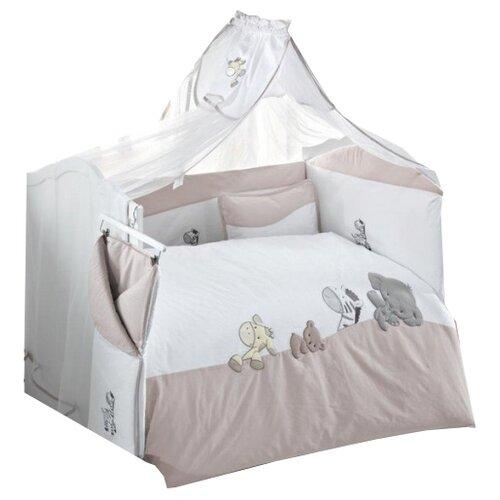 Купить Kidboo комплект Safari (6 предметов) бежевый, Постельное белье и комплекты