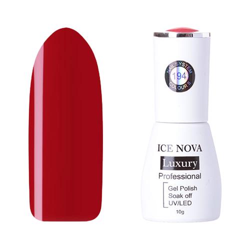 Купить Гель-лак для ногтей ICE NOVA Luxury Professional, 10 мл, 194