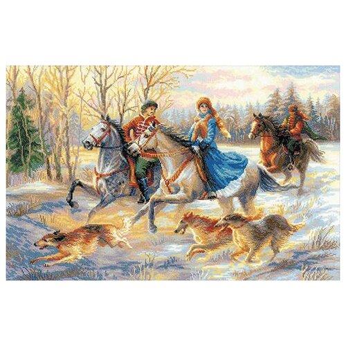 Фото - Риолис Набор для вышивания крестом Русская охота 60 x 40 (1639) риолис набор для вышивания крестом русская охота 60 x 40 1639