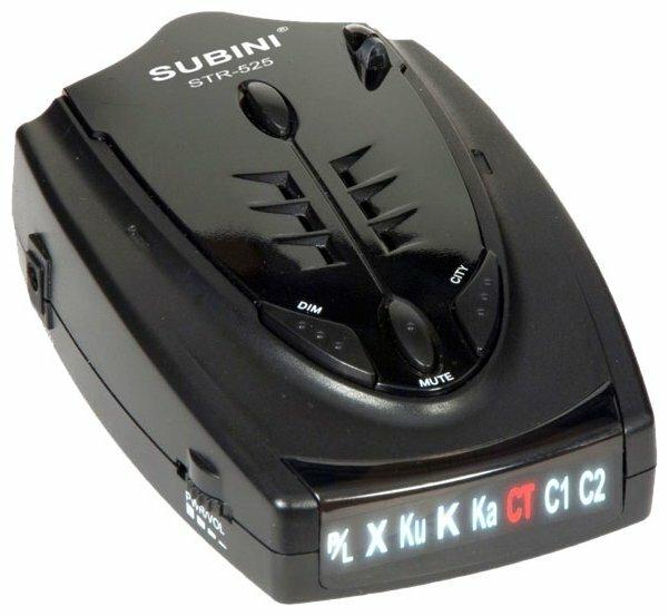 Радар-детектор Subini STR-525G