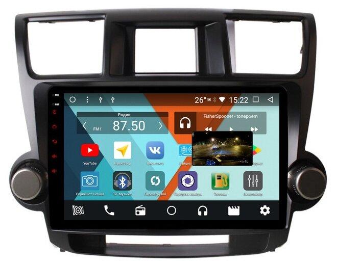 Автомагнитола Parafar Toyota Highlander 2007-2012 Android 8.1.0 (PF035KHD)