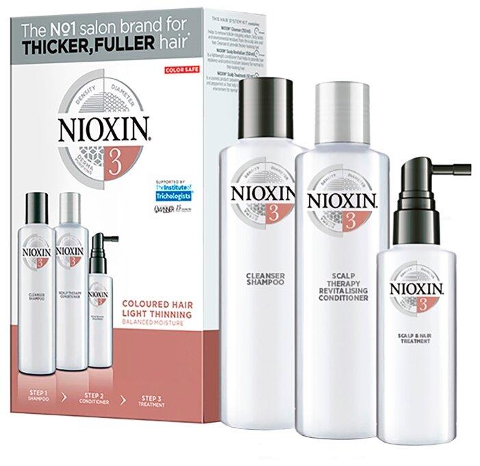 Nioxin Cleanser System 3 - Очищающий шампунь (Система 3), 300 мл
