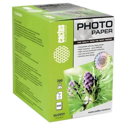 Фото - Бумага cactus A6 CS-GA6200500 200 г/м² 500 лист., белый бумага revcol a6 127760 200 г м² 500 лист белый