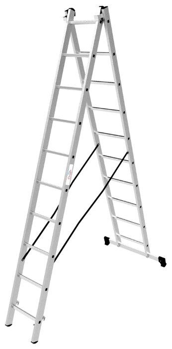 Лестница трансформер 2-секционная ОЛИМП 1220210 A