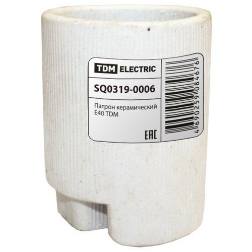Патрон E40 TDM ЕLECTRIC SQ0319-0006 патрон tdm sq0319 0007