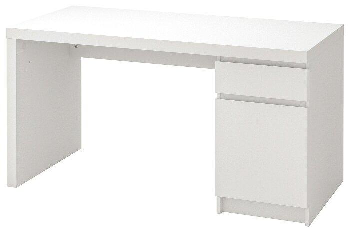 Письменный стол IKEA Мальм — купить по выгодной цене на Яндекс.Маркете