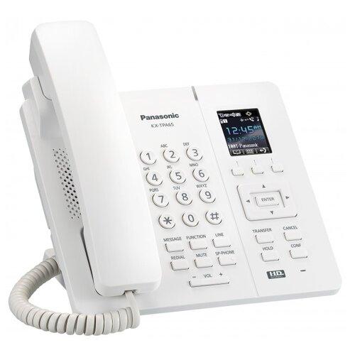 VoIP-телефон Panasonic KX-TPA65 белый