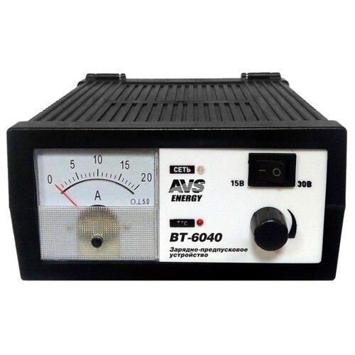 Зарядное устройство AVS Energy BT-6040 черный