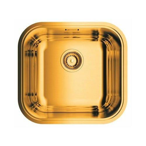 Интегрированная кухонная мойка 44.5 см OMOIKIRI Omi 44-U/IF AB 4993190 латунь
