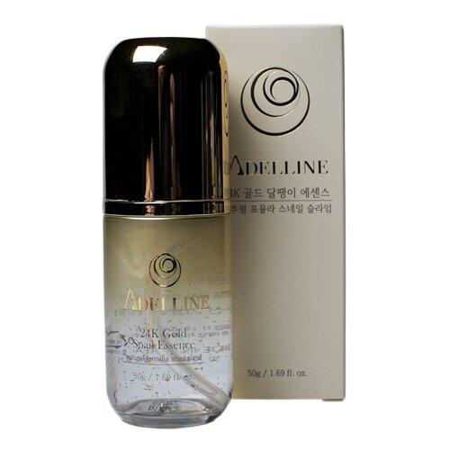 Adelline 24K Gold Snail Essence Сыворотка для лица, 50 г