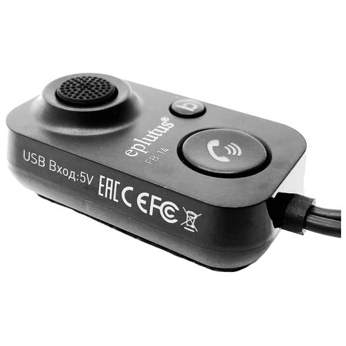 Автомобильный Bluetooth адаптер Eplutus FB-14 с AUX и USB (Bluetooth 5.1)