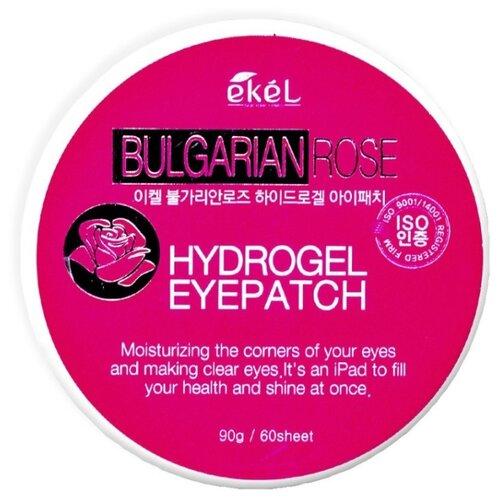 Ekel Патчи для кожи вокруг глаз Bulgarian Rose Hydrogel Eye Patch, 60 шт.