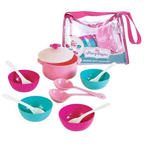 Фото - Набор посуды Mary Poppins Зайка 39324 розовый/бирюзовый сумка бочонок mary poppins зайка 530035 пластик розовый голубой