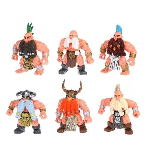 Купить Набор фигурок Наша игрушка Гномы 641999, Солдатики