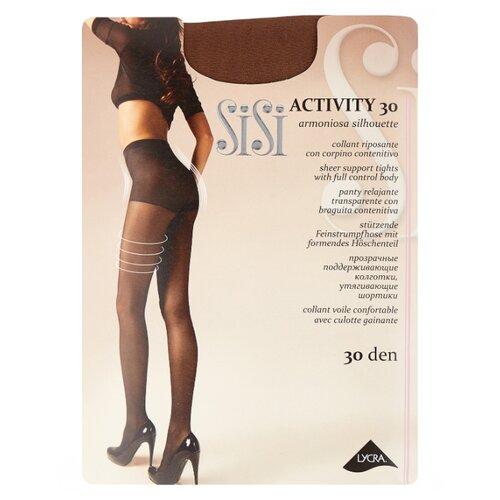 Фото - Колготки Sisi Activity 30 den, размер 5-MAXI XL, naturelle (бежевый) колготки sisi activity 30 den размер 3 m naturelle бежевый