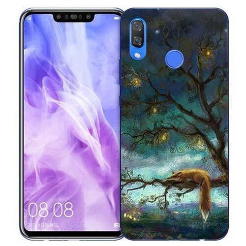 Купить Чехол Gosso 725756 для Huawei Nova 3 лиса на дереве