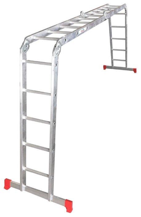 Лестница трансформер 4-секционная ОЛИМП 2320405 A