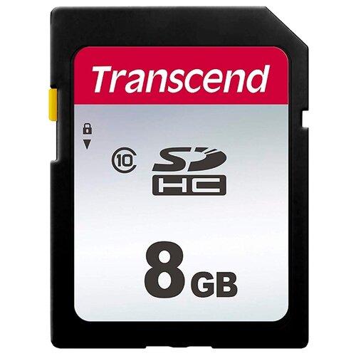 Фото - Карта памяти Transcend TS8GSDC300S карта памяти transcend ts64gusdu1