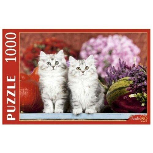 Фото - Пазл Рыжий кот Котята и урожай (КБ1000-7887), 1000 дет. пазл рыжий кот konigspuzzle россия йошкар ола гик1000 6534 1000 дет