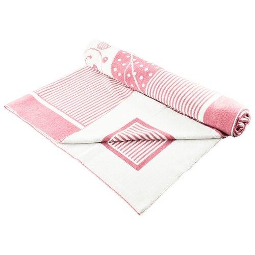 Купить Плед LEO Мишутка 100x90 розовый, Покрывала, подушки, одеяла
