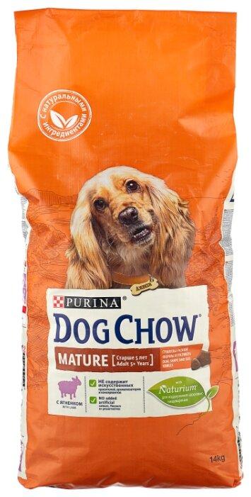 Корм для собак DOG CHOW для здоровья кожи и шерсти, ягнен... — купить по выгодной цене на Яндекс.Маркете