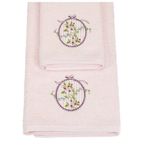 Arya Набор полотенец Sema светло-розовый полотенца arya комплект из 6 ти полотенец arya birdy 30 30 см бело розовый